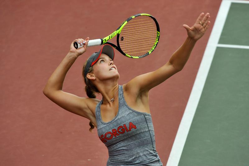 Caroline Brinson - Georgia women's tennis team (Photo by Sean Taylor / Georgia Sports Communication)