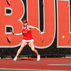 Georgia's Mariana Gould during the Bulldogs' match against Georgia Tech at Dan Magill Tennis Complex on Friday, February 24, 2017. (Photo by Cory A. Cole)