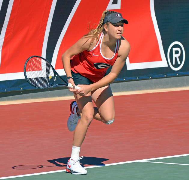 Ellen Perez - Georgia women's tennis team (Photo by Steven Colquitt / Georgia Sports Communications)