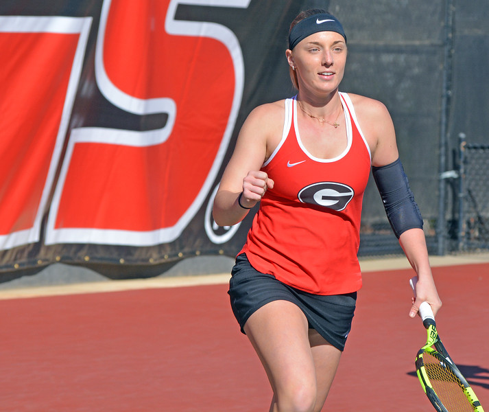 Kennedy Shaffer - Georgia women's tennis team (Photo by Steven Colquitt)