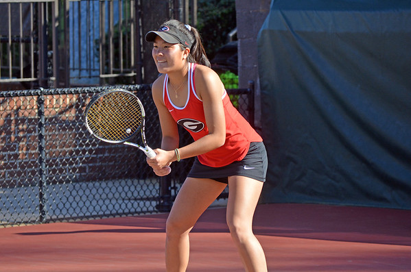 Marta Gonzalez   - UGA Women's Tennis Team -  (Photo by Steven Colquitt / Georgia Sports Communication)