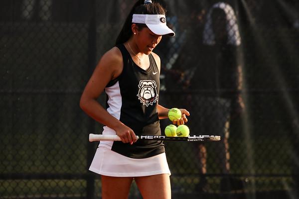 Marta Gonzalez  UGA Women's Tennis Team (Photo by Cory A. Cole / Georgia Sports Communication)