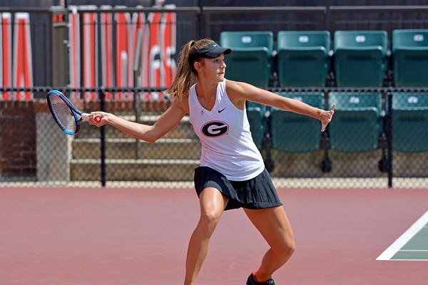 Georgia's Katarina Jokic during the round-robin fall tournament at Henry Feild Stadium in Athens, Ga., on Friday, Sept. 15, 2017.  (Photo by Steven Colquitt / Georgia Sports Communication