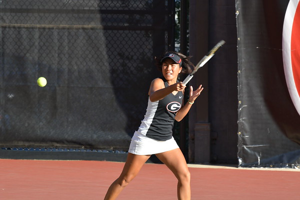 Georgia's Marta Gonzalez  - ITA Southeast Regional Championships -  Dan Magill Tennis Complex  - Athens, GA, Friday, Oct. 20, 2017 -  (Photo by Steven Colquitt / Georgia Sports Communication)