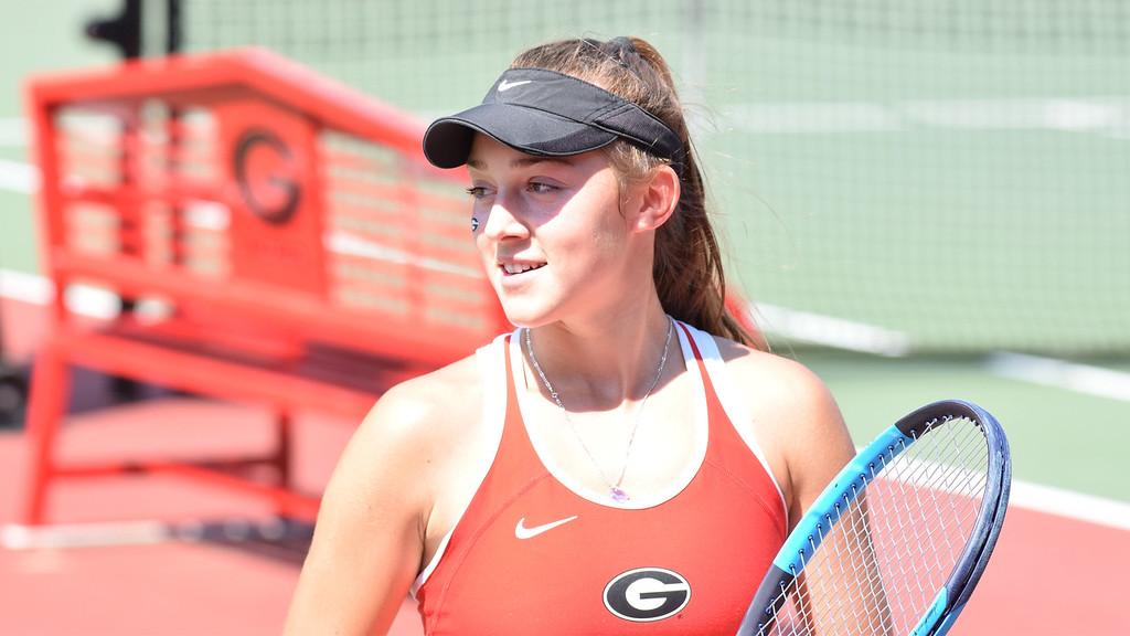 Georgia's Katarina Jokic (Photo by Steven Colquitt/ Georgia Sports Communication)