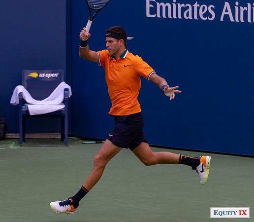 2018 US Open Men's Tennis - Juan Martin del Potro (Argentina) © Equity IX - SportsOgram