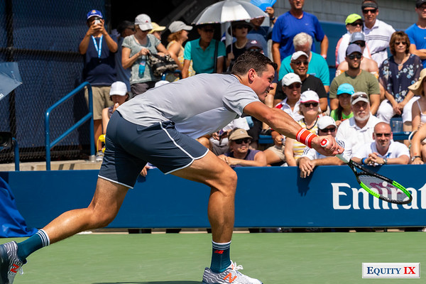 2018 US Open Men's Tennis - Milos Raonic (Canada) © Equity IX - SportsOgram