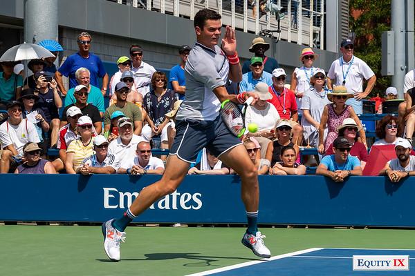 2018 US Open Men's Tennis - Milos Raonic (Canada) © Equity IX - SportsOgram