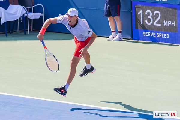 2018 US Open Men's Tennis - Dominc Thiem (Austria) © Equity IX - SportsOgram