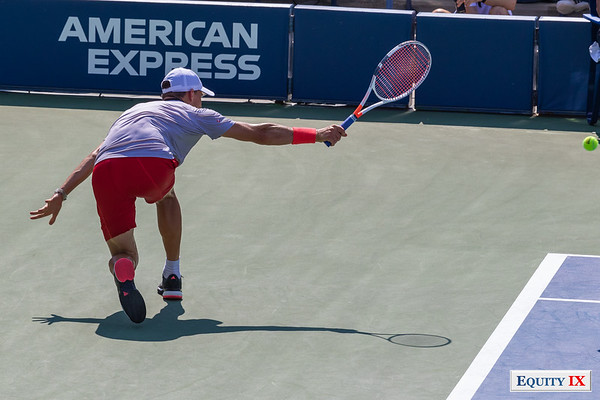 2018 US Open Men's Tennis - Dominc Thiem (Austria) © Equity IX - SportsOgram