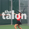 The Argyle Tennis team competes in the Area championship against Western Hills at Argyle High School, Texas on October 17, 2019. (Katie Ray | The Talon News)
