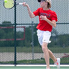 The Argyle Eagle tennis team competes in the District Tournament at Argyle High School on April 12-13, 2021. (Katie Ray | The Talon News)