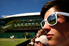 Fan at Wimbledon, 2010