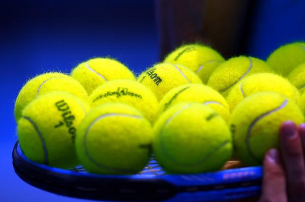 Tennis ball at Australian Open, 2010