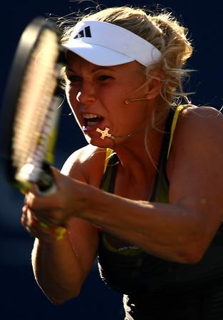 Caroline Wozniacki, US Open, 2010