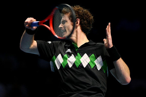 Andy Murray of Great Britain, Barclays ATP World Tour Finals, London, 2010