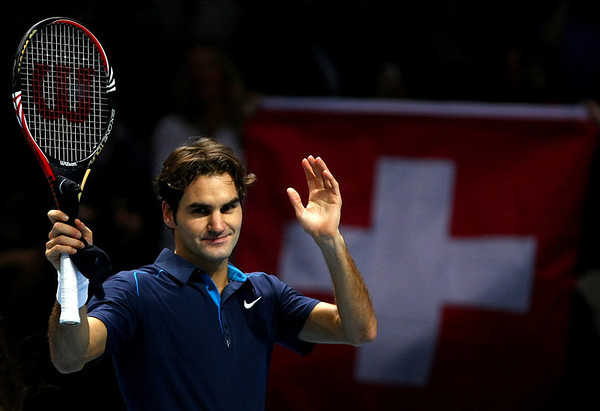 Roger Federer, ATP World Tour Finals, London, 2011