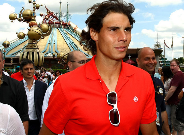Rafael Nadal, feature at EuroDisney, 2010