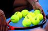 Tennis balls, Australian Open, Melbourne, 2011