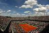 Court Centrale, Roland Garros, 2011