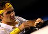 Roger Federer of Switzerland, Australian Open, Melbourne, 2011