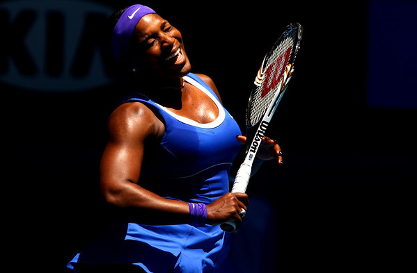 Serena Williams, Australian Open, 2012