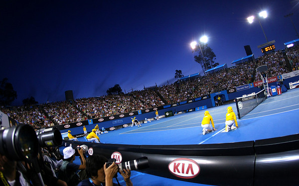 Ambience at the Australian Open, Melbourne, 2011