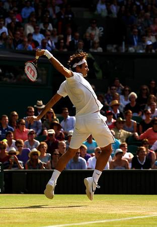 Roger Federer, Wimbledon, 2011