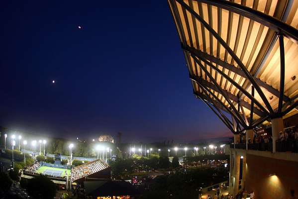 View from Arthur Ashe Stadium, US Open, 2009