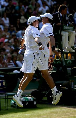 Bryan Brothers, Wimbledon 2008