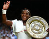 Serena Williams of USA, Ladies Wimbledon Champion, 2010