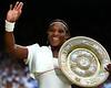 Serena Williams of USA, Ladies Wimbledon Champion, 2010
