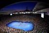 Sunset over Rod Laver Arena, Australian Open, 2010