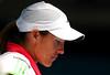 Justine Henin of Belgium, Australian Open, Melbourne, 2011