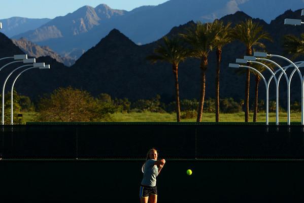 Caroline Wozniacki, Indian Wells, 2010