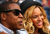 Jay Z and Beyonce, US Open, 2011