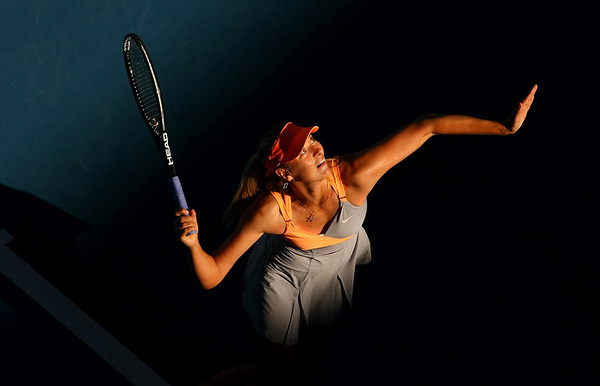 Maria Sharapova of Russia, Australian Open, Melbourne, 2011