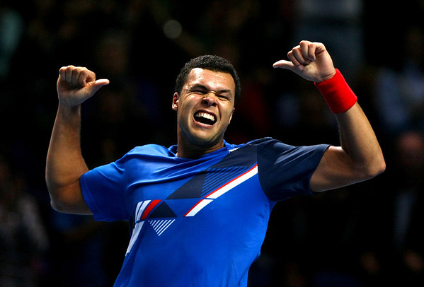 Jo-Wilfried Tsonga, ATP World Tour Finals, London, 2011