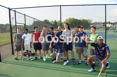 Boys Tennis: John Champe 5, Central 2 by Owen Gotimer on May 18, 2015