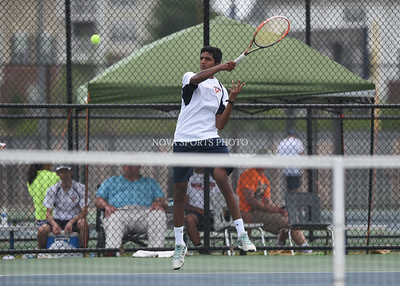 Boys Tennis: 2015 Conference 14 Quarterfinal, Marshall vs. Briar Woods 5.26.15