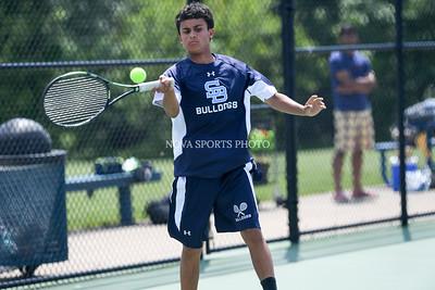 Boys Tennis: North Stafford vs. Stone Bridge 5.24.16