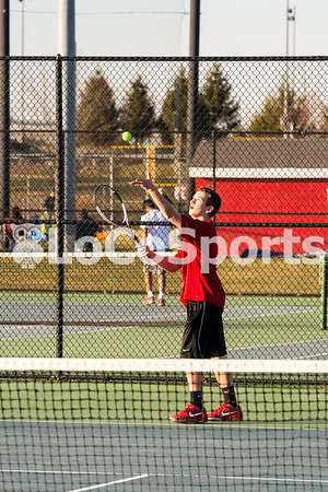 Boys Tennis: Rock Ridge 8, Heritage 1 by Tim Gregory on March 23, 2017