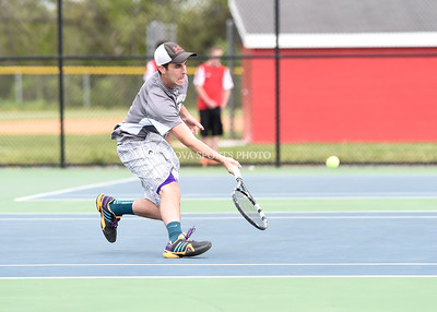 Boys Tennis: Dominion vs. Heritage 5.13.15