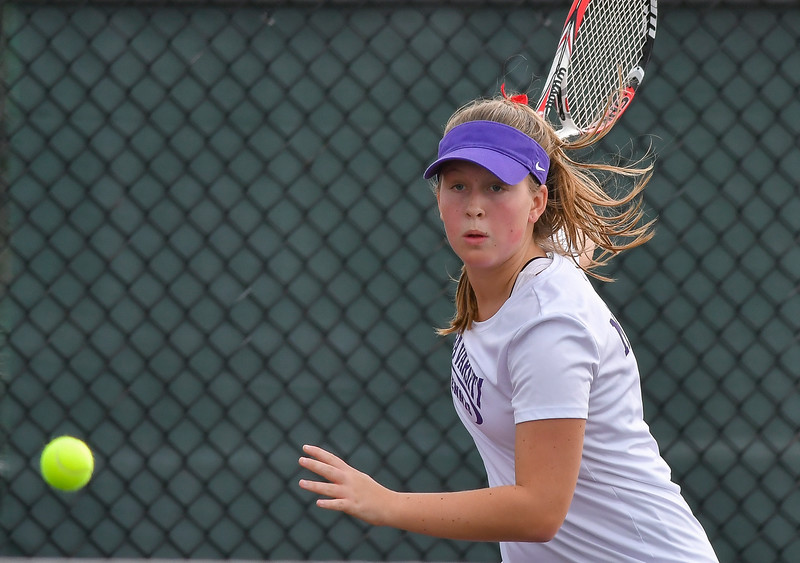 Christian Brothers Academy vs Fayetteville-Manlius - Section 3 Class A Tennis Finals - Oct 6, 2018