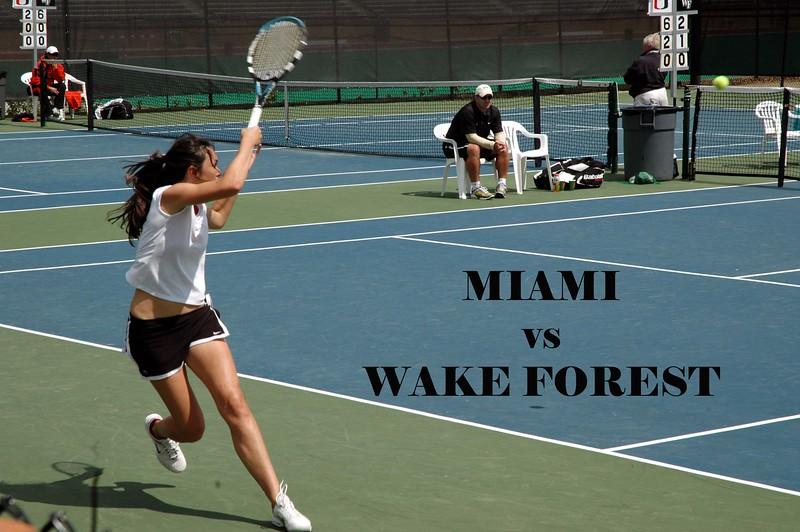 Miami vs Wake Forest