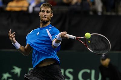 Davis Cup Tennis - USA vs. Slovakia - Sears Centre Arena 09.12.14