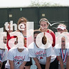 The Eagles compete in the district tennis meet at Krum High School on April 10, 2015. (Photo by Josh Block / The Talon News)