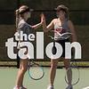 Argyle Eagles compete in the District Tennis Tournament Tennis  at Goldfield Tennis Center in Denton, Texas , on April 4, 2018. (Jake Pool / The Talon News)