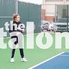 The Eagles Tennis team competes  at Eagles Courrt  in Argyle , Texas, on February 1, 2019. ( Sarah Berney & Joe Walsh / The Talon News)