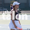 The Eagles compete against Anna in their  District Tennis Match at Argyle High School in Argyle, Texas, on September 25, 2018.(Georgia Penn / The Talon News)